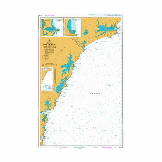 AUS809 Port Jackson to Port Stephens Admiralty Chart