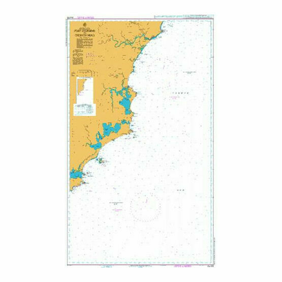 AUS810 Port Stephens to Crowdy Head Admiralty Chart