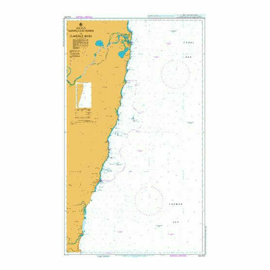 AUS812 Nambucca Heads to Clarence River Admiralty Chart