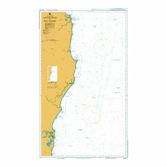 AUS813 Clarence River To Point Danger Admiralty Chart