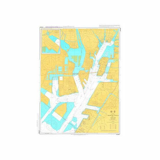 JP1055A Northern Part of Nagoya Ko Admiralty Chart