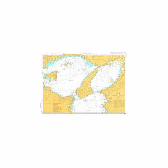 JP106 Osaka Wan and Harima Nada Admiralty Chart