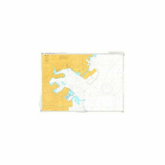 JP1085 Negishi Admiralty Chart