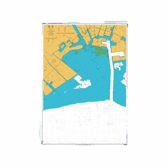 JP1088 Katsunan Admiralty Chart