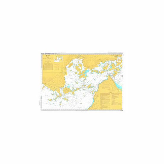 JP1108 Aki Nada and Hiroshima Wan Admiralty Chart