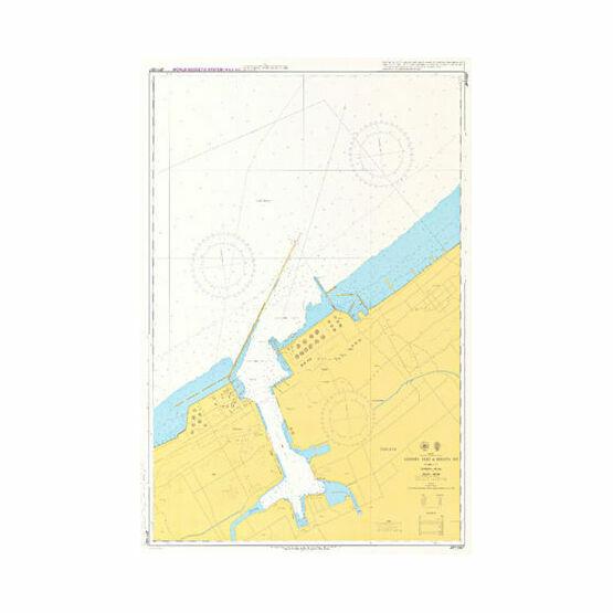 JP1155B Eastern Part of Niigata Ko Admiralty Chart