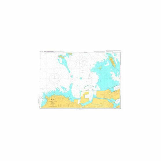 JP1267 Western Part of Kanmon Ko Admiralty Chart