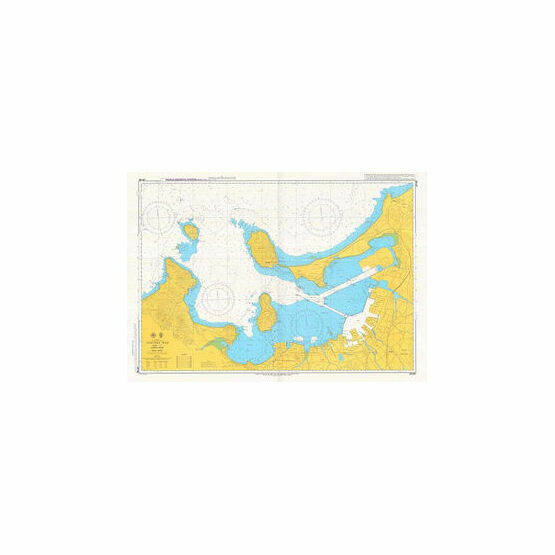 JP190 Fukuoka Wan Admiralty Chart