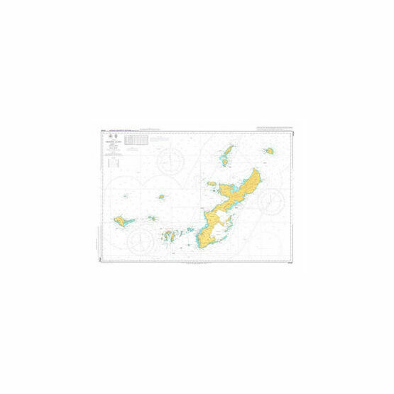 JP226 Okinawa Gunto Admiralty Chart