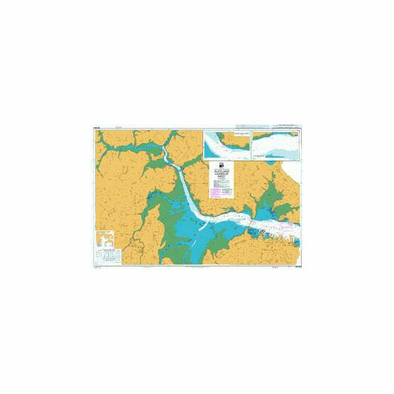 NZ5323 Auckland Harbour West Admiralty Chart