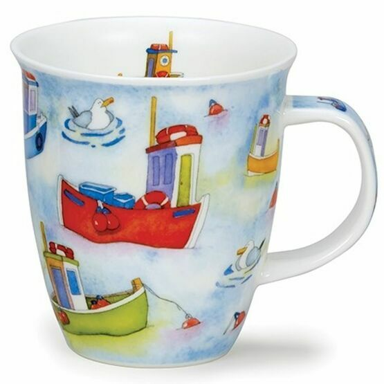 Dunoon On The Water Fishing Boat Nevis Shaped Mug