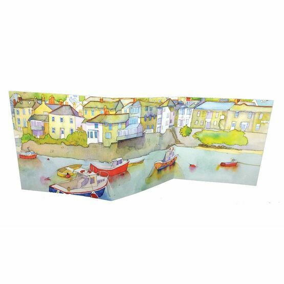 Emma Ball 'Calm Harbour' Two-Fold Card