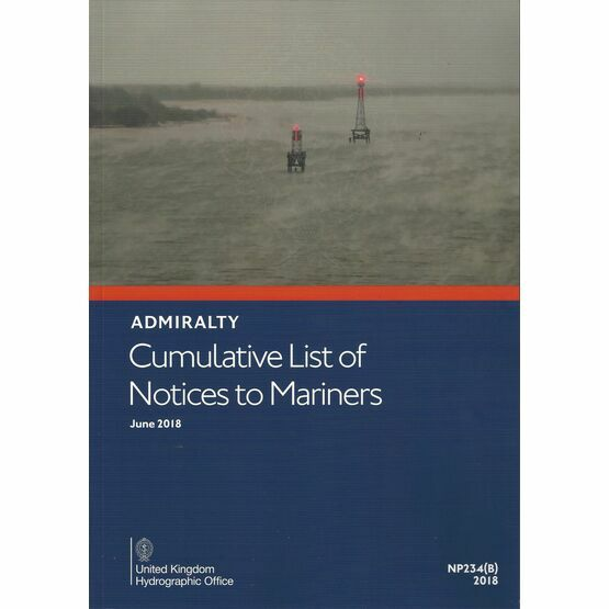 Admiralty NP234(B) Cumulative List of Notices to Mariners