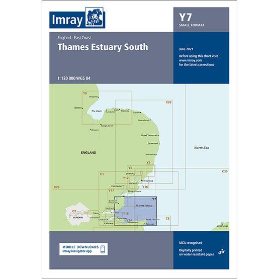 Imray Chart Y7: Thames Estuary South