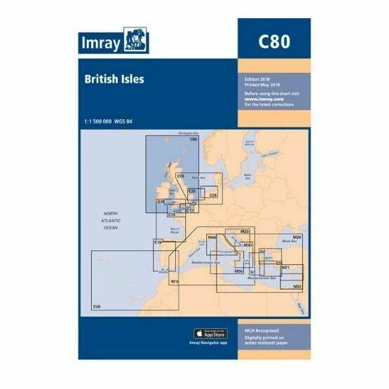 Imray Chart C80: British Isles