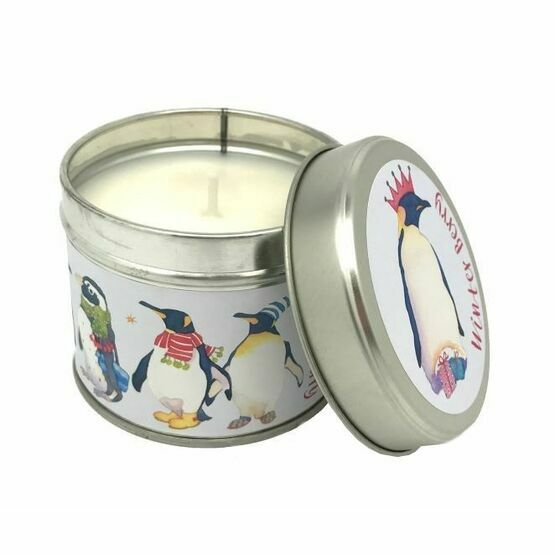 Emma Ball Winter Berry Scented Candle Tin