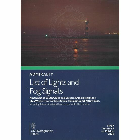 Admiralty NP87 List of Lights & Fog Signals (Volume P)