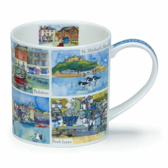 Dunoon Cornwall Orkney Shaped Mug