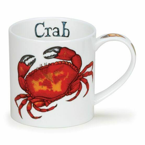 Dunoon Crab Orkney Shaped Mug