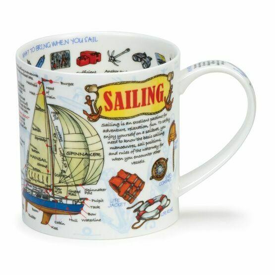 Dunoon Sailing Orkney Shaped Mug
