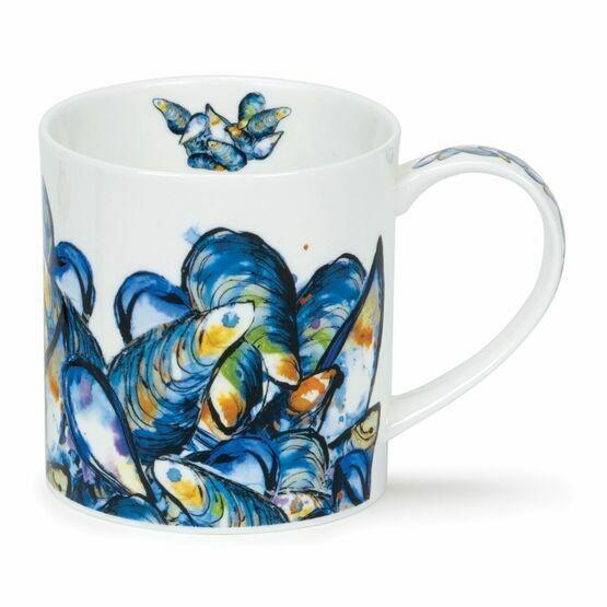 Dunoon Plat Du Jour Orkney Shaped Mug