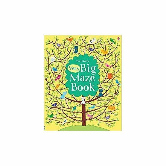 The Usborne Very Big Maze Book
