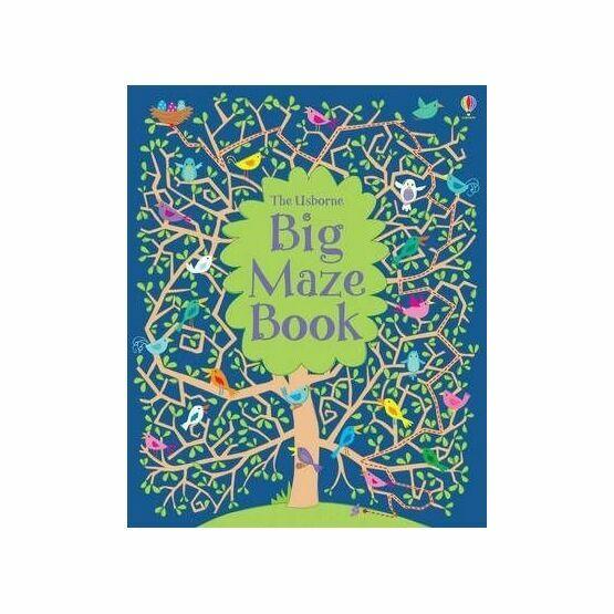 The Usborne Big Maze Book only £0 00