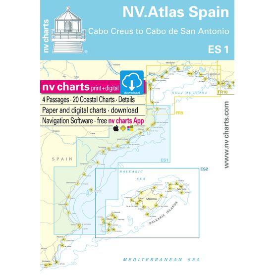NV Atlas Spain ES1: Cabo Creus to Cabo San Antonio