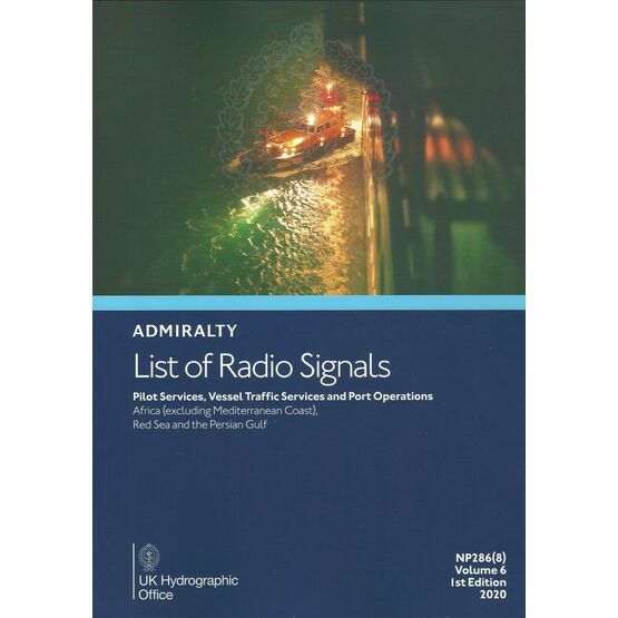 Admiralty NP286(8) List of Radio Signals (Volume 6 - Part 8)