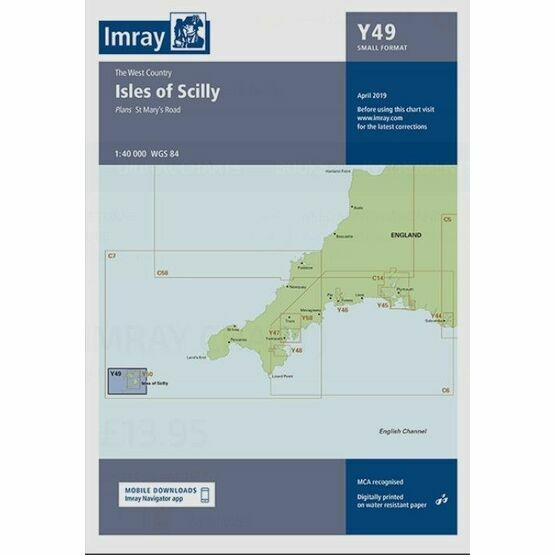 Imray Chart Y49: Isles of Scilly
