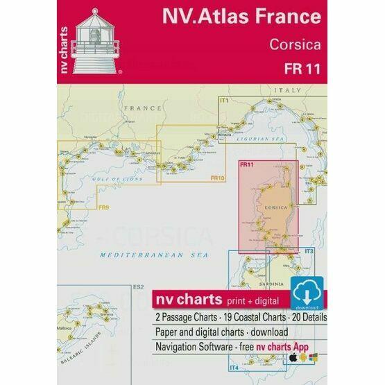 NV Atlas France FR11: Corsica