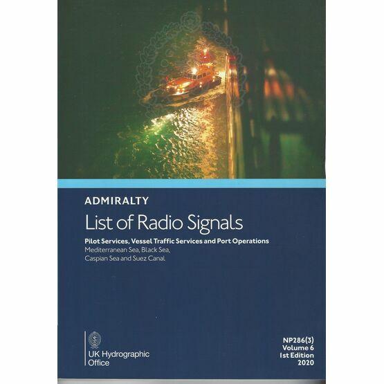 Admiralty NP286(3) List of Radio Signals (Volume 6 - Part 3) 2020