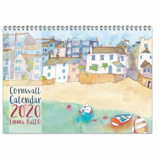 Emma Ball  Cornwall Calendar 2020 (Sold out for this year!)