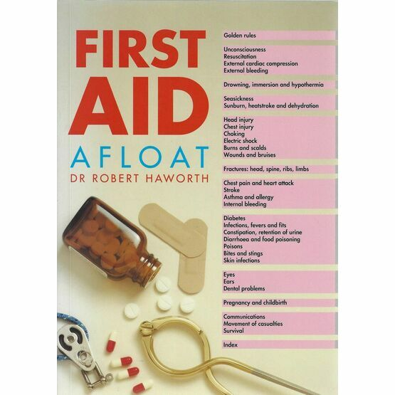 First Aid Afloat, 1st Edition (reprinted 2001)