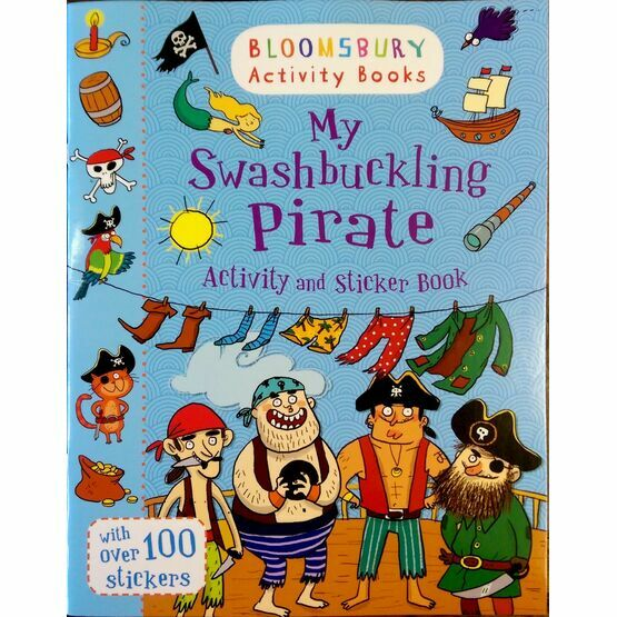My Swashbuckling Pirate Activity & Sticker Book