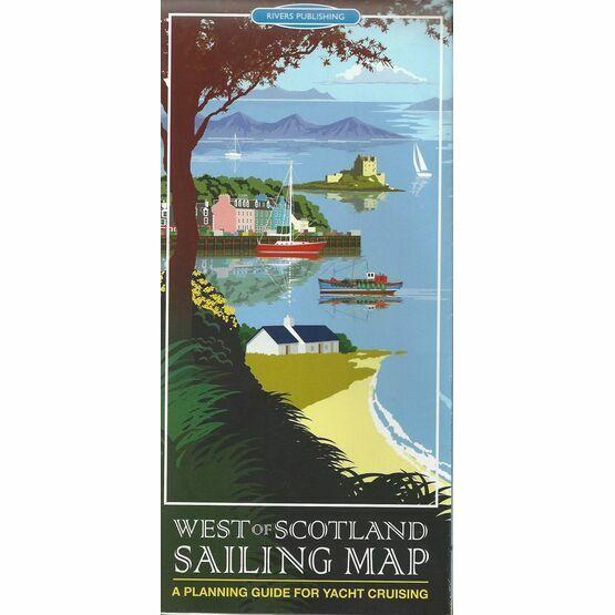 West of Scotland Sailing Map
