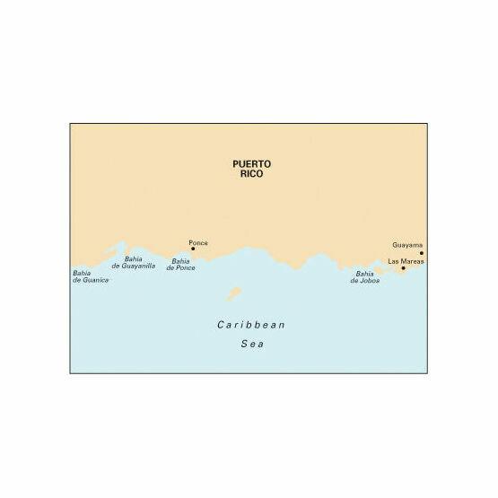 Imray Chart A12 Punta Figuras to Bahia de Guanica