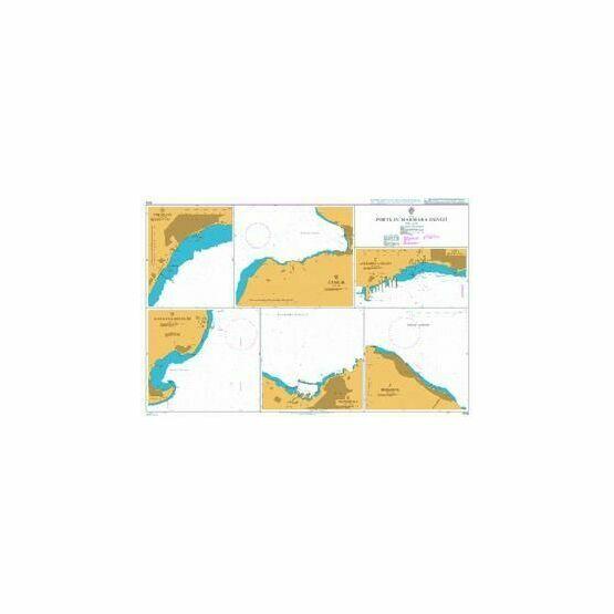 1006 Ports in Marmara Denizi Admiralty Chart