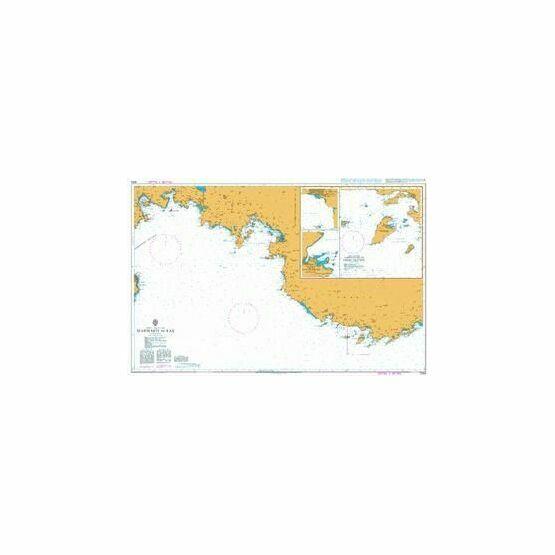 1054 Marmaris to Kas Admiralty Chart