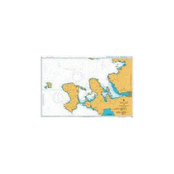 1058 Nisos Khios and Izmir Korfezi Admiralty Chart