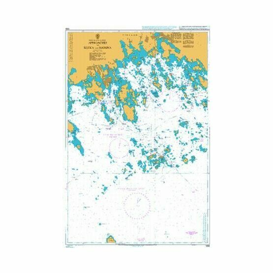 1089 Approaches to Kotka and Hamina Admiralty Chart