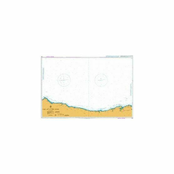 1291 North Coast Santona to Gijon Admiralty Chart