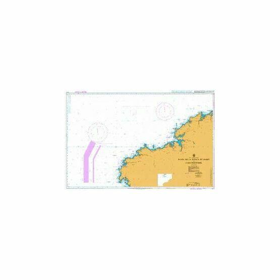 1111 Punta de la Estaca de Bares to Cabo Finisterre Admiralty Chart