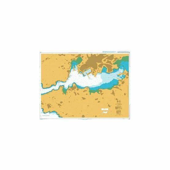 1117 Puerto de Ferrol Admiralty Chart
