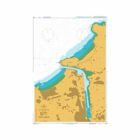 1142 Ria de Aviles Admiralty Chart