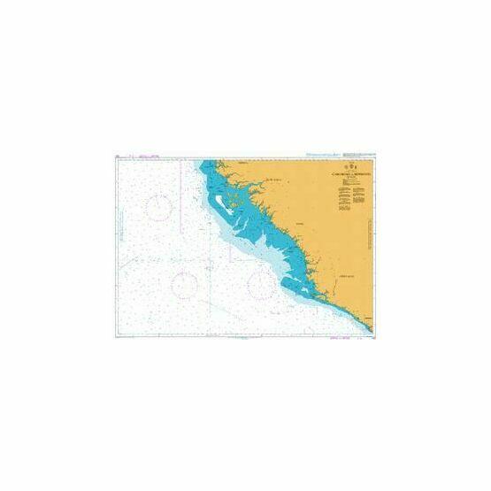 1147 Cabo Roxo to Monrovia Admiralty Chart