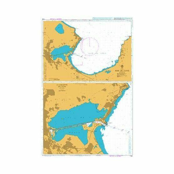 1184 Baie de Tunis Admiralty Chart