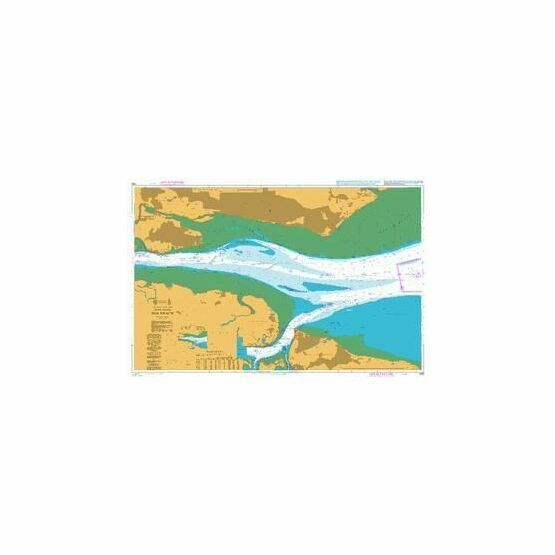 1185 River Thames - Sea Reach Admiralty Chart