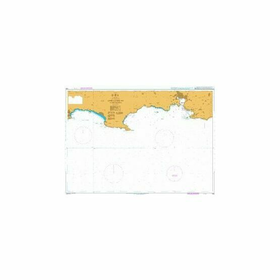 1189 Approaches to Cartagena Admiralty Chart