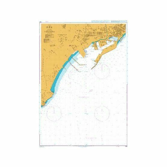 1193 Tarragona Admiralty Chart
